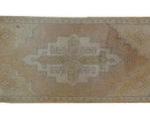 DISCOUNTED 2x3 Vintage Oushak Rug Mat