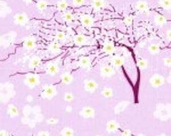 Breeze in Iris Fabric YARD