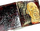 Zombie Apocalypse! Zombie Wallet - Zombie Gifts - Zombie Art - Zombie Survival - Living Dead - Walking Dead. Holds 8 cards, 1 bill slot