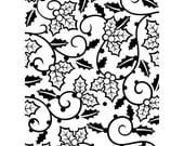 HOLLY VINES  Embossing Folder by Darice