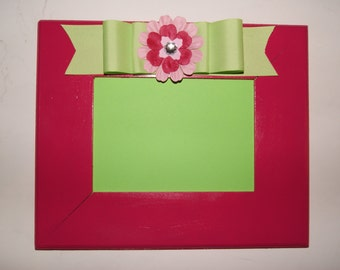 Hot Pink Picture Frame