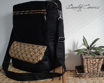 Laptop Backpack / Bag / Convertible - Customizable for Color Fabrics and Size - laptop COMPARTMENT