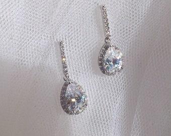 Bridal Earrings, Wedding Earrings, Bridesmaid Earrings, Graduation Earrings, Debutante Earrings