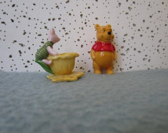 Porcelain Figurines, Winnie the Pooh & Piglet