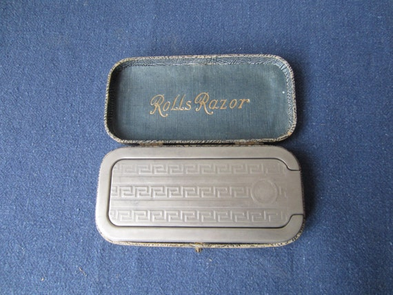 rolls razor in original protective case by wyngriffen on etsy. Black Bedroom Furniture Sets. Home Design Ideas