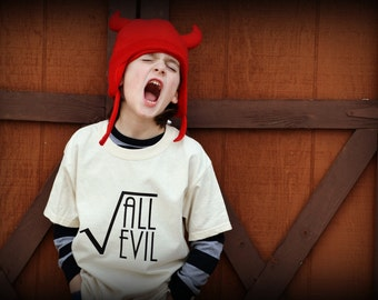 The Root of All Evil kids tshirt