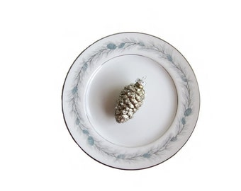 Vintage Style House Duchess Fine China Bread and Butter Plates made in Japan Pine Cones