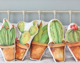 Cactus Cushion Long Spikes