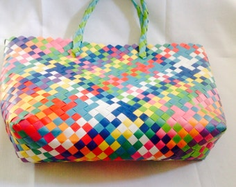 Handwoven Market Tote/beach Bag