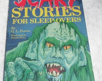 Still More Scary Stories For Sleep-overs #3  by Q. L. Pearce Softcover Book