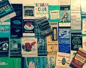 SALE Vintage Matchbook Collection in Albums - Vintage Matchbox - Vintage Paper Ephemera - Vintage Advertising & Artwork