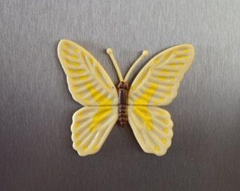 Vintage Butterfly Refrigerator Magnet