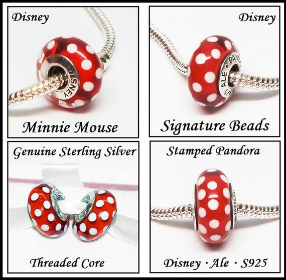 Genuine Sterling Silver - SIGNATuRE MINNIE MOuSE - Excellent High ...