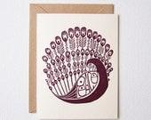 Peacefowl Card