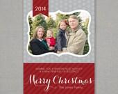 Christmas Card - Custom Photo Holiday Card