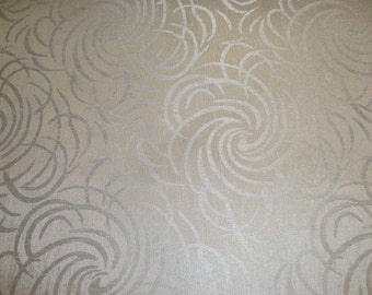 Vinyl upholstery white quilted vinyl fabric with 3 8 for Galaxy headliner fabric