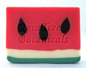Artisan Soap– Watermelon Handmade Luxury Cold Process Soap