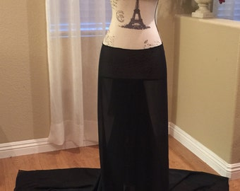 Maternity Photo Shoot Skirt and Top.