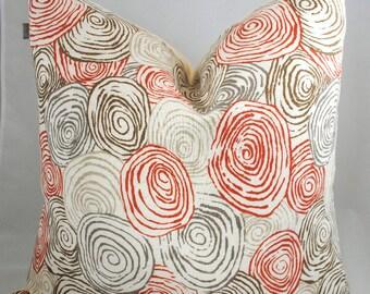 NEW!-Designer Pillow Cover -20x20-Spiro Poppy-Kravet- Pillow