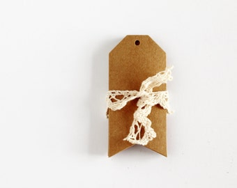 Large Arrow Bottom Kraft Gift Tags