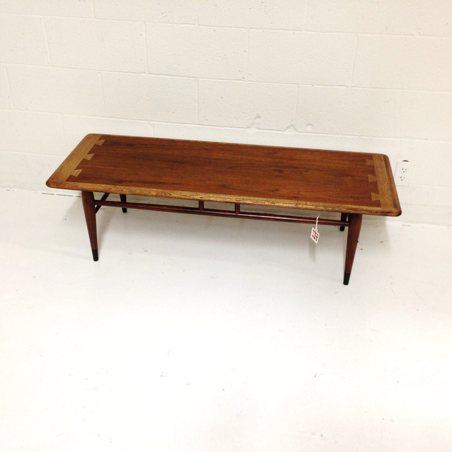 Mid Century Modern Coffee Table By Lane In Walnut