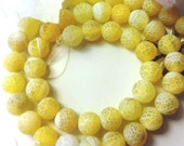 48 AGATE Gemstone Beads 8mm - COD2073
