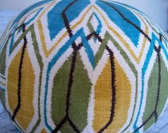 Graphic Richloom Sketch Floor Pouf