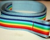 "Retro Rainbow Belt 1.25"" Wide"