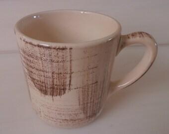 Vernon Kilns Barkwood Coffee Mug