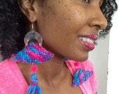 Asymmetrical Triangle Knit Set
