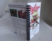 A Christmas Story VHS Tape Box Notebook