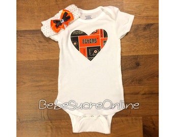 Philadelphia Flyers Headband AND Bodysuit