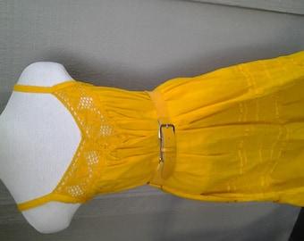 HAPPY   ///    Cotton Summer Dress