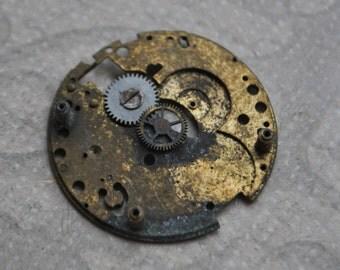 0.9 inch Antique wrist watch movement.