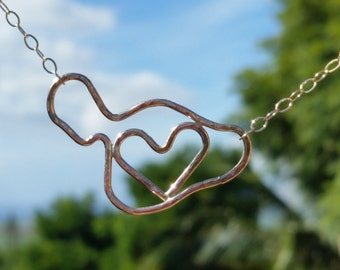Hammered Love Maui Necklace