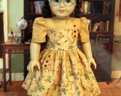 Fall Dress for Dolls like Molly and Emily