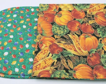 Table Runner Thanksgiving Table Runner Christmas Table Runner Holiday Table Runner Quilted Table Runner Holiday Table Decoration