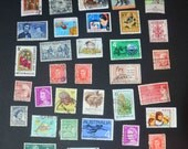 50 Australian stamps 1930's to 1980's in very fine condition