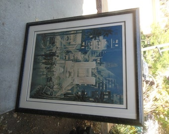 Michael Young Serigraph By Invitation Only Artists Proof 6 of 50