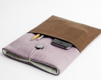 Macbook Retina sleeve, Macbook 13 inch case, Macbook Air sleeve, minimal sleeve, with a pocket