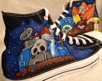 Mega man 2 Dr.Wily Custom Converse