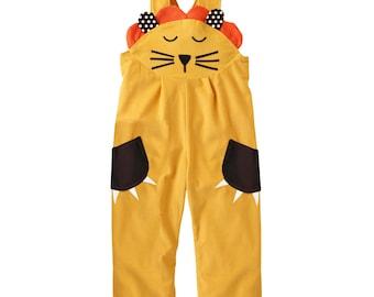 Lion dungaree costume