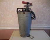 Antique Civil Defense Fire Extinguisher