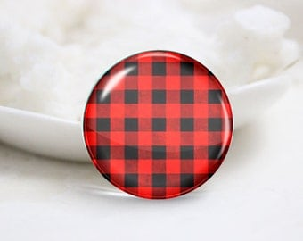 10mm 12mm 14mm 16mm 18mm 20mm 25mm 30mm Handmade Round Photo Glass Cabochon-Lattice (P1468)