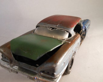 Classicwrecks Rusted Wreck Scale Model Chevy Car