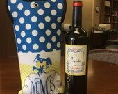 Personalized Insulated Wine Tote Bag
