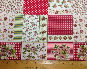 Patchwork Floral Fabric - Quilter's Perfect