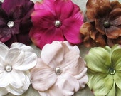 Dogwood Hair Flower Clip & Pin - 6 Color Choices!