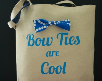 Stuff Tote - Bow Ties are Cool