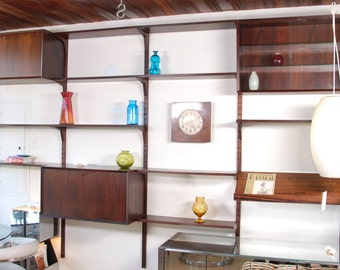 1958 Poul Cadovius CADO Wall Unit in Rosewood